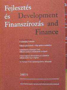 Ágh Attila - Fejlesztés és Finanszírozás 2007/1-4 [antikvár]