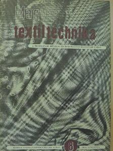 Dezső István - Magyar Textiltechnika 1956. augusztus [antikvár]