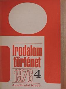 Bajomi Lázár Endre - Irodalomtörténet 1976/4 [antikvár]