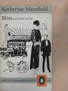 Katherine Mansfield - Bliss and Other Stories [antikvár]