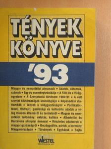 Avar János - Tények könyve '93 [antikvár]