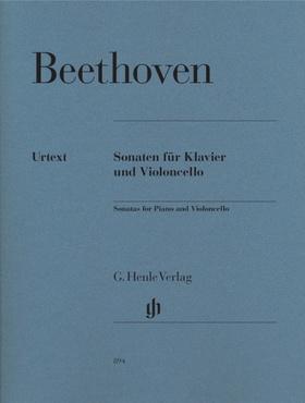 BEETHOVEN - SONATEN FÜR KLAVIER UND VIOLONCELLO (JENS DUFNER / IAN FOUNTAIN / DAVID GERINGAS) URTEXT
