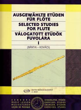 VÁLOGATOTT ETŰDÖK FUVOLÁRA I (BÁNTAI-KOVÁCS)