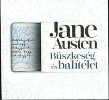 Jane Austen - Büszkeség és balítélet könyv + idézetes bögre