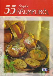 Halmos Mónika - 55 fogás krumpliból [antikvár]