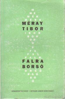 Méray Tibor - Falra borsó [antikvár]