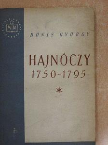Bónis György - Hajnóczy [antikvár]
