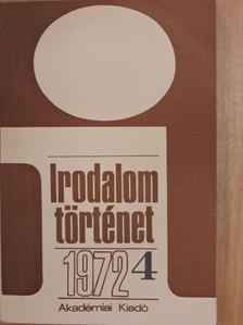Abody Béla - Irodalomtörténet 1972/4. [antikvár]