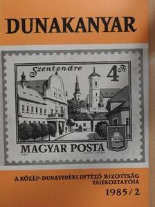 Bárdos István - Dunakanyar 1985/2. [antikvár]