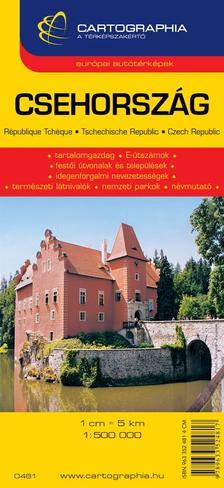 """Cartographia Kiadó - CSEHORSZÁG AUTÓTÉRKÉP - CART. - """"SC"""" -"""
