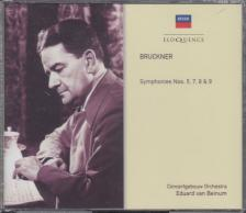 BRUCKNER - SYMPHONIES NOS.5,7,8&9 4CD BRUCKNER