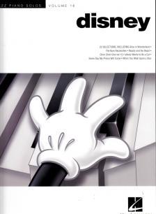 JAZZ PIANO SOLOS VOL. 16 DISNEY