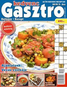 CSOSCH KIADÓ - Kedvenc Gasztro rejtvénylap 2019/3