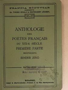 Alexandre Soumet - Anthologie des Poétes Francais du XIX-e siécle I. [antikvár]