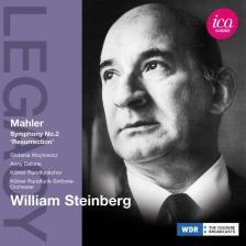 MAHLER - SYMPHONY NO.2 CD STEINBERG, KÖLNER RUNDFUNK-SINFONIE-ORCHESTER