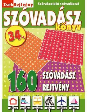 CSOSCH KIADÓ - ZsebRejtvény SZÓVADÁSZ Könyv 34.