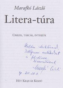 Marafkó László - Litera-túra (dedikált) [antikvár]