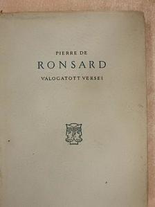Pierre de Ronsard - Pierre de Ronsard válogatott versei [antikvár]
