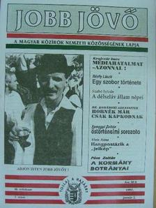 Dr. Komáromi Szilveszter - Jobb Jövő 1997. január 2. [antikvár]