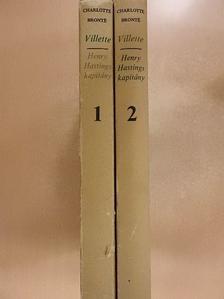 Charlotte Brontë - Villette/Henry Hastings kapitány 1-2. [antikvár]