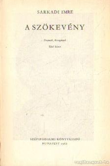 Sarkadi Imre - A szökevény I-II. kötet [antikvár]