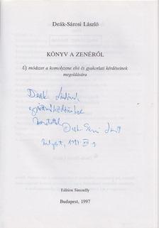 Deák-Sárosi László - Könyv a zenéről (dedikált) [antikvár]