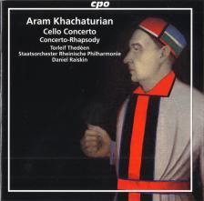 KHACHATURIAN - CELLO CONCERTO CD THEDÉEN & RAISKIN