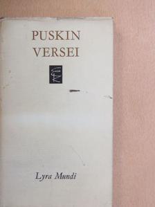 Alekszandr Szergejevics Puskin - Alekszandr Puskin versei [antikvár]