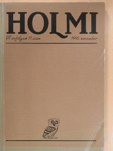 Margócsy István - Holmi 1995. november [antikvár]