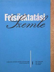 Baracs Ferencné - Felsőoktatási Szemle 1982. január-december [antikvár]