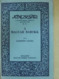 Csapodi Csaba - A magyar barokk [antikvár]