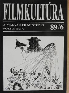 Harmat György - Filmkultúra 1989. június [antikvár]
