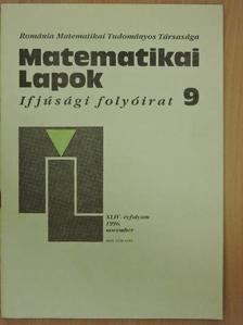 András Szilárd - Matematikai Lapok 1996. november [antikvár]