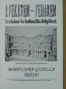 Bodó Csiba Gizella - Irodalom feketén-fehéren 2009/01. [antikvár]