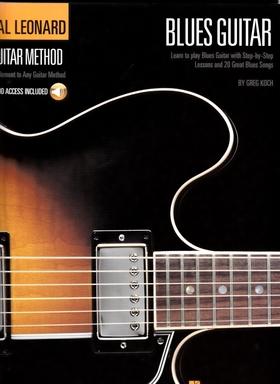 KOCH, GREG - HAL LEONARD GUITAR METHOD BLUES GUITAR WITH AUDIO ACCESS