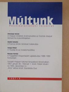 Pünkösti Árpád - Múltunk 1997/1. [antikvár]