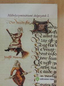 Langó Péter - Műhelyszemináriumi dolgozatok I. [antikvár]