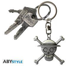 "Abysse Europa Kft. - ONE PIECE kulcstartó - 3D ""Skull Luffy"""
