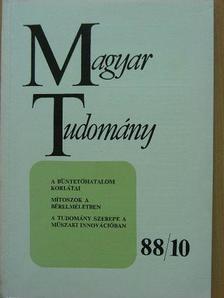Detrekői Ákos - Magyar Tudomány 1988. október [antikvár]