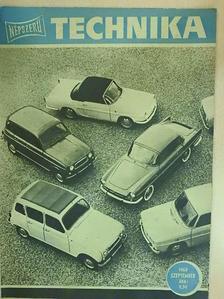 Endrei Walter - Népszerű Technika 1963. szeptember [antikvár]