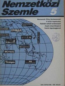 Bernard Cassen - Nemzetközi Szemle 1987. május [antikvár]