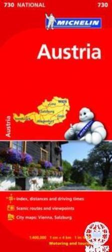 Michelin - Ausztria autótérkép - 2013