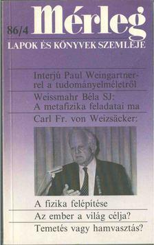Boór János - Mérleg 1986/4 [antikvár]