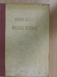 Gyóni Géza - Gyóni Géza összes versei [antikvár]
