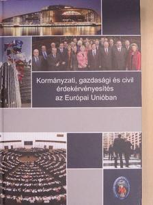 Boda Zsolt - Kormányzati, gazdasági és civil érdekérvényesítés az Európai Unióban [antikvár]