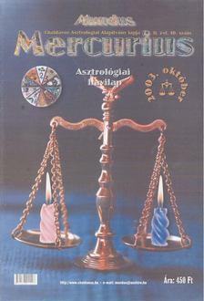 TAKÁCS TIBOR - Mundus Mercurius  2003/10. október [antikvár]