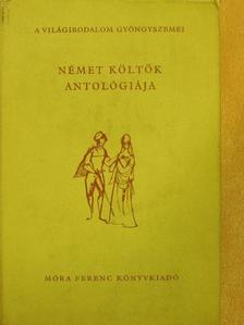 Albert Ehrenstein - Német költők antológiája [antikvár]