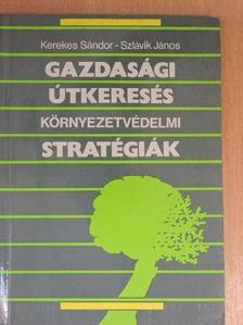 Kerekes Sándor - Gazdasági útkeresés - Környezetvédelmi stratégiák [antikvár]