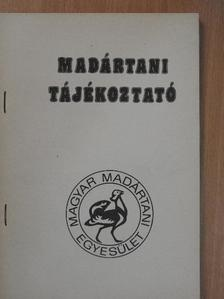 Andó Csaba - Madártani tájékoztató 1986. január-március [antikvár]
