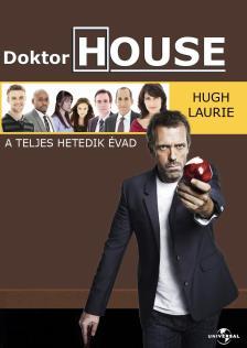 DOKTOR HOUSE A TELJES HETEDIK ÉVAD DVD